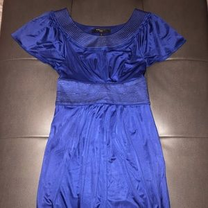 BCBG Maxazria blue dress